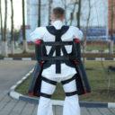 Комплекты «Рыцарь» для отработки ударов - вид сзади