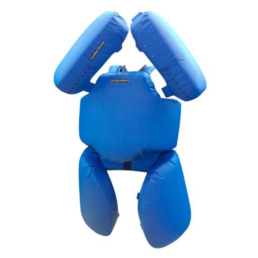Комплект «Рыцарь» для отработки ударов / защита тренера Kanku-Proffi (с падами, тент)