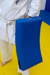 Макивара изогнутая для отработки ударов (тент, с прямыми углами)