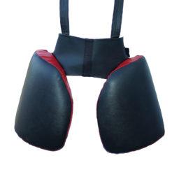 Защита бедра Kanku-Proffi для отработки лоу кик (натуральная кожа)