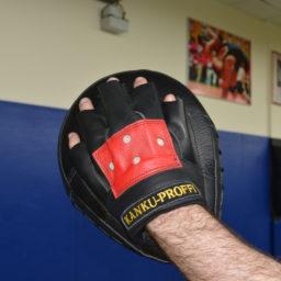 3. Изогнутые боксерские лапы из натуральной кожи (взрослые)