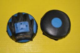 Тактические боксерские лапы из натуральной кожи