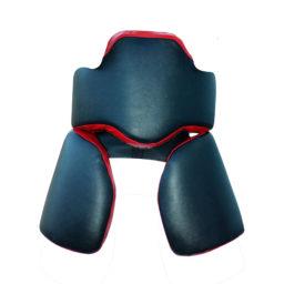 Комплект макивар «Рыцарь» для отработки ударов / защита тренера Kanku-Proffi (без падов, натуральная кожа)