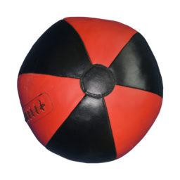 Медбол (медицинбол, набивной мяч) из натуральной кожи KANKU-PROFFI
