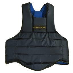 Защитный жилет / защита корпуса для единоборств KANKU-PROFFI (черный)